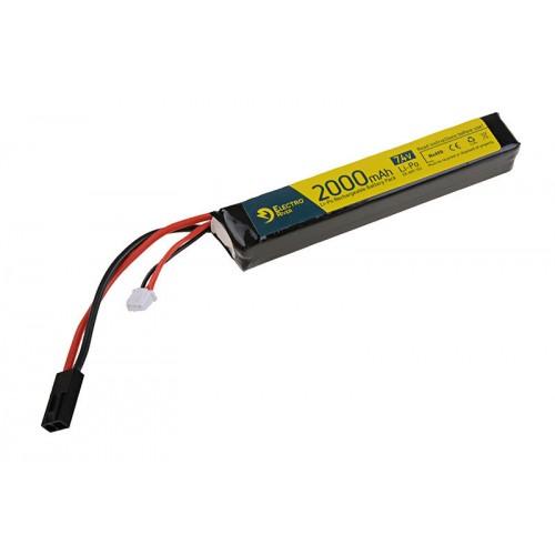 [ELR-06-008299] ELECTRO RIVER LiPo 7,4V 2000mAh 15/30C