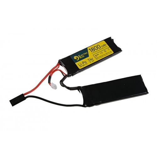 LiPo 7,4V 1800mAh 20/40C battery - 2 module