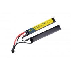 ELECTRO RIVER LiPo 7,4V 2000mAh 15/30C T-connect (DEANS) - 2 module
