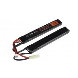 LiPo 7,4V 2000mAh 15/30C two-module battery